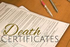 Are Death Certificates required by law?